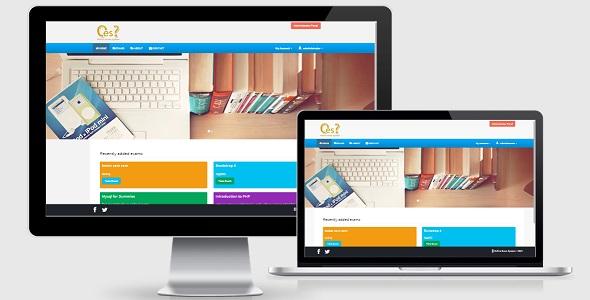 دانلود اسکریپت آزمون آنلاین OES v2.0 - Online Examination System