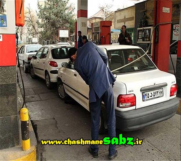 عادتهای عاشقانه ما آدمها،عجله در ترافیک و صف پمپ بنزین گاز cng